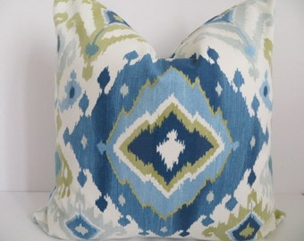 Aqua Pillow Covers Chevron Pillows Cream Pillow Covers Zig