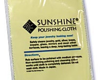 Best Silver Cleaner - Large Sunshine Silver Polishing Cloths