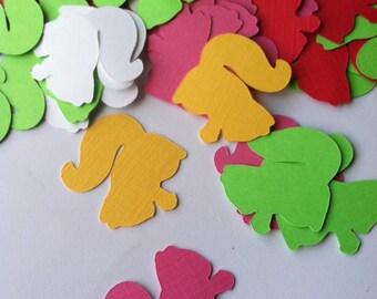 Squirrel Party Confetti, Squirrel Confetti, Woodland Party, Woodland Baby Shower, Woodland Birthday, 100 pieces Made to Order