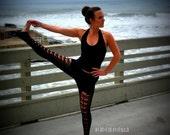 Sexy Yoga Leggings, Yoga Pants, Yoga Tights, Tights, Pants, Black Leggings, Stretchy, Long Stretch Pants, dance tights, Women's Cut Legging