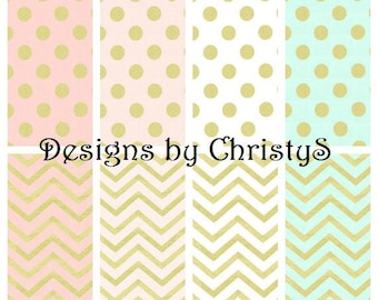 Glitz Dot or Chevron Contour Changing Pad Cover