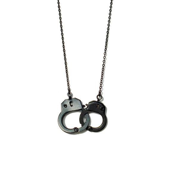 Minimal Handcuff Necklace