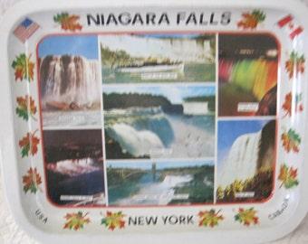 Vintage Niagara Falls Souvenir Tray