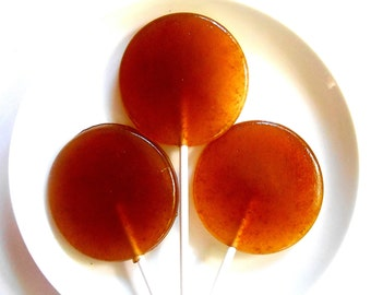 Brewed Coffee Lollipops, Favors, Snacks, Picnics, After Dinner Coffee, Coffee to Go