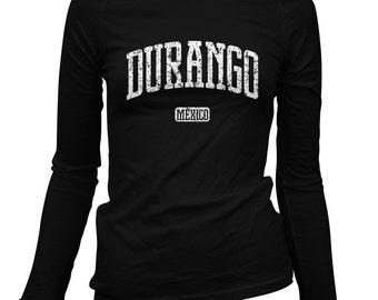 Women's Durango Mexico Long Sleeve Tee - LS Ladies T-shirt - S M L XL 2x - Durango Mexico Shirt - 2 Colors