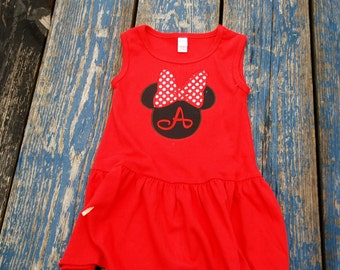 Monag Minnie Applique dress