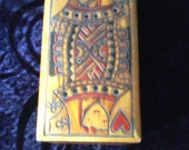 Beautiful Hand Made Playing Card Box