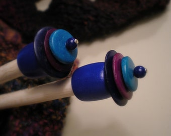 Wooden Knitting Needles...Size US 13
