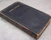 1893 Nouveau Testament de Notre Seigneur Jesus Christ  French New Testament Leather Bound 1893