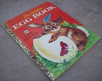 3.00 Sale  ~  The Golden Egg Book  Little Golden Book