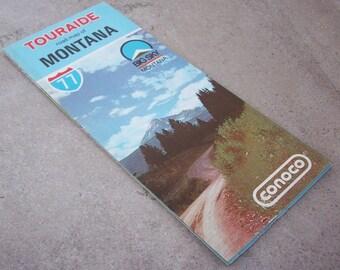 1977 Montana Road Map