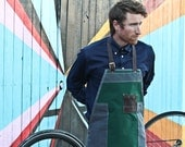 Utility Bib Apron | Shop Apron | Waxed Canvas & Cordura