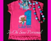 Bupple guppies inspired Birthday Shirt & Bow