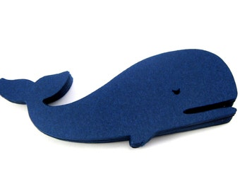 Whale Paper Cut Outs set of 25