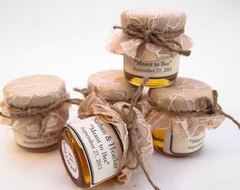Wedding Favor Mini Mason Jar Sample Jars (pick 5 flavors)