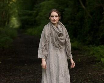 Linen Trapeze Dress
