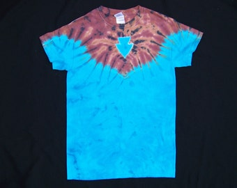 Arrowhead Tie Dye Small Shirt #051
