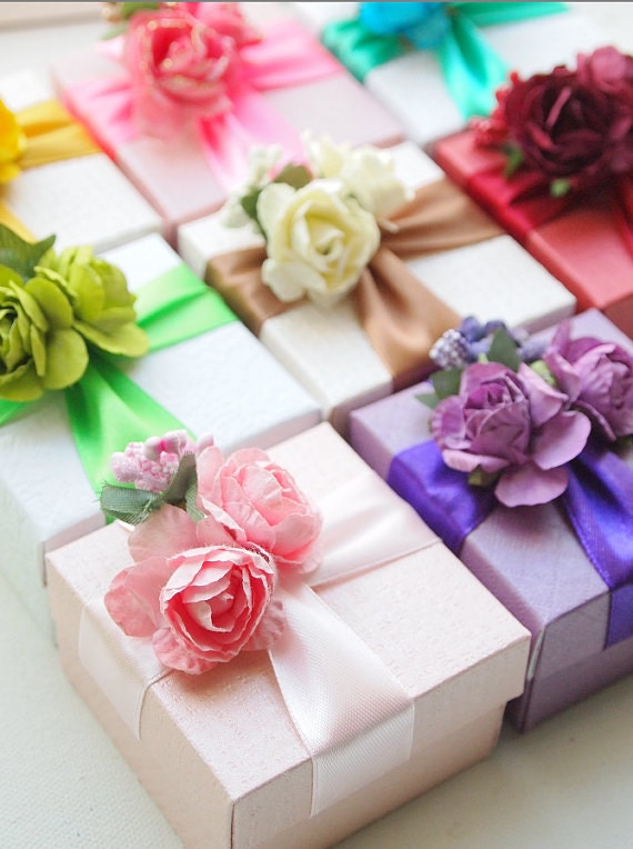Special Reserved List for Handmade Favor Boxes for Kahryn