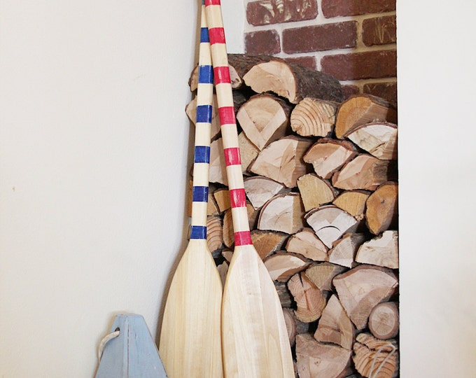 Beach Decor Paddle Wood Nautical by SEASTYLE