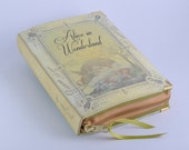 Alice in Wonderland Book Clutch