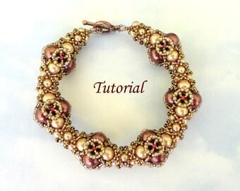ELIXIR beaded bracelet beading tutorial beadweaving pattern seed bead beadwork jewelry beadweaving tutorials beading pattern instructions