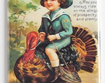 Thanksgiving Greetings Fridge Magnet