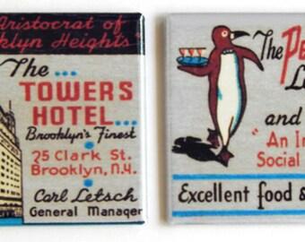 Tower's Hotel Fridge Magnet Set