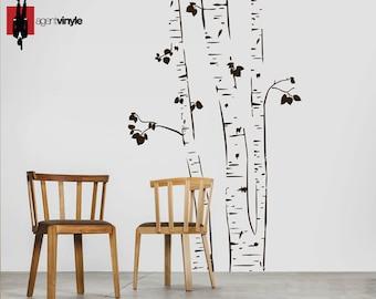 Birch , Vinyl Stickers, Mural - Wall Sticker, Agent Vinyle, Montreal