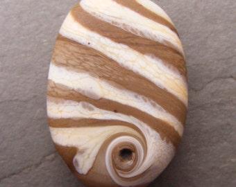A Gneiss Bead Lampwork Focal Bead SRA