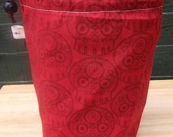 R/L project bag 138 red skulls