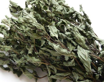 Organically Grown Dried Peppermint//Whole Leaf