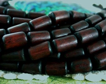 Buri Nut Beads, Buri Seed Beads, Natural Buri Nut Beads, Recycled Beads, Brown Buri Beads, Buri Palm Nut Beads  NAT-201