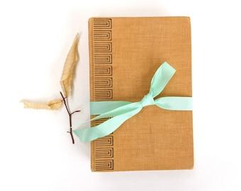 Journal or Sketchbook - Upcycled Hardcover