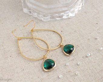 Water Droplet Earrings