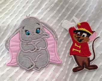 Dumbo or Timothy Mouse Patch