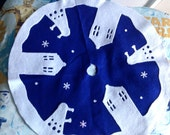 "Small Dr. Who Tree Skirt  22"" diameter"