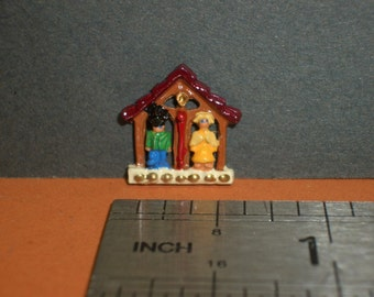 1:12th Weather House Ornament for the Dolls House