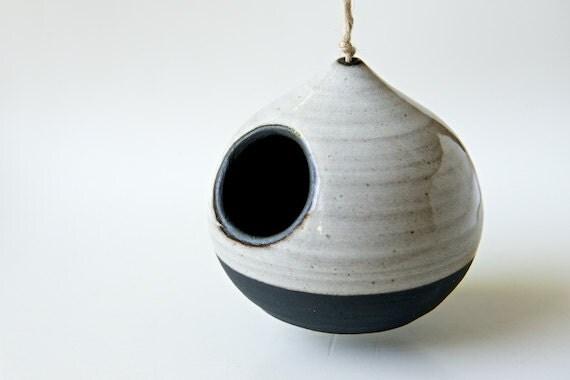 keramik vogelhaus indoor pflanzer vogel haus moderne vogelhaus. Black Bedroom Furniture Sets. Home Design Ideas
