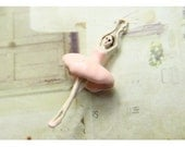 1 - Ballerina Girl Charms Painted Pink Enamel Tutu Pendant ballet charms tutu Jewelry Supplies (M004)