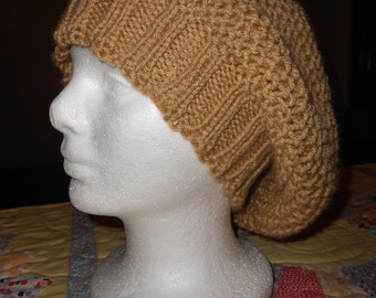 Light Brown Slouch Hat or Beanie
