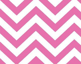 Zig Zags Small Chevron Moda - Peony Pink - 32217-35 - 1/2 Yard