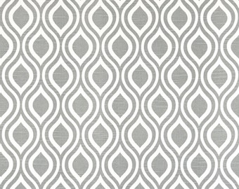 "Premier Prints Nicole in Ash/Slub - Home Dec Fabric - 1/2 yard, Additional Available - 54"" wide"