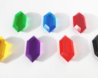 Rupee Rainbow - Legend of Zelda 7 Rupee Set