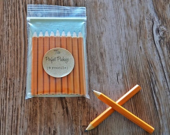 Mini Pencils Stationary Yellow Pencils Game Pencils