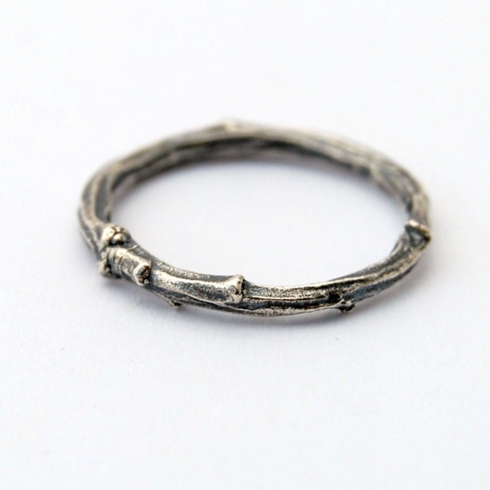 Twig Ring Sterling Silver Willow Branch Ring. Oxidized Wedding Rings. East West Rings. Compressed Wedding Rings. Becca Engagement Rings. Set Engagement Rings. Soft Square Engagement Rings. Link Rings. Line Engagement Rings