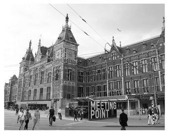 Amsterdam Central Station Photo Print