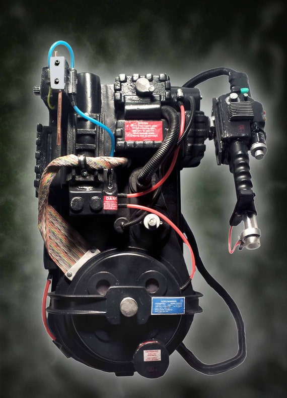 Proton Pack Amp Thrower Ghostbusters Movie Prop By Vikingprops