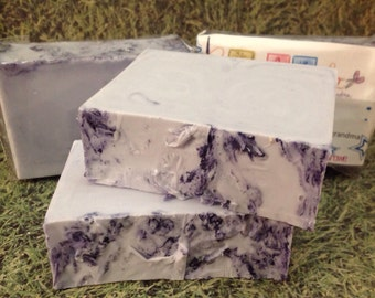 Lavender Goats Milk Natural Handmade Soap