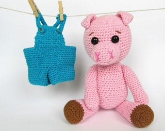 Pigy the Piggy - Amigurumi Crochet Pattern / PDF e-Book / Stuffed Animal Tutorial