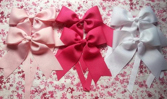 Large Bow Curtain Tiebacks Girls Room Decor Curtain Ties